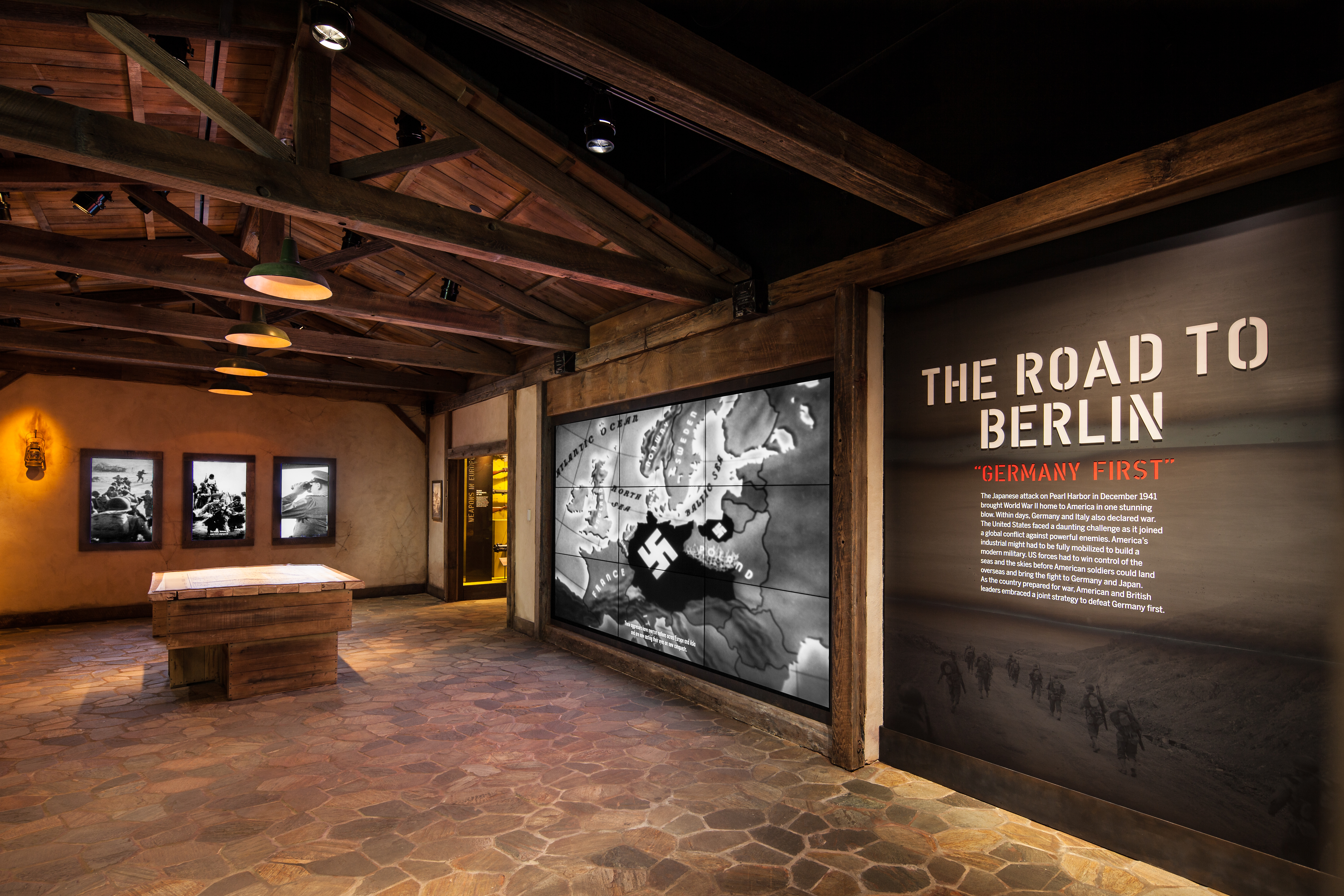 Briefing Room gallery, Road to Berlin