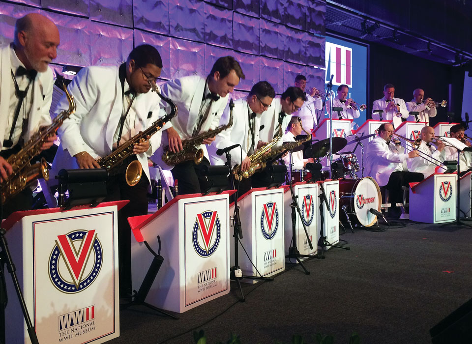 Dine & Dance with the Victory Swing Orchestra   The National WWII Museum   New Orleans