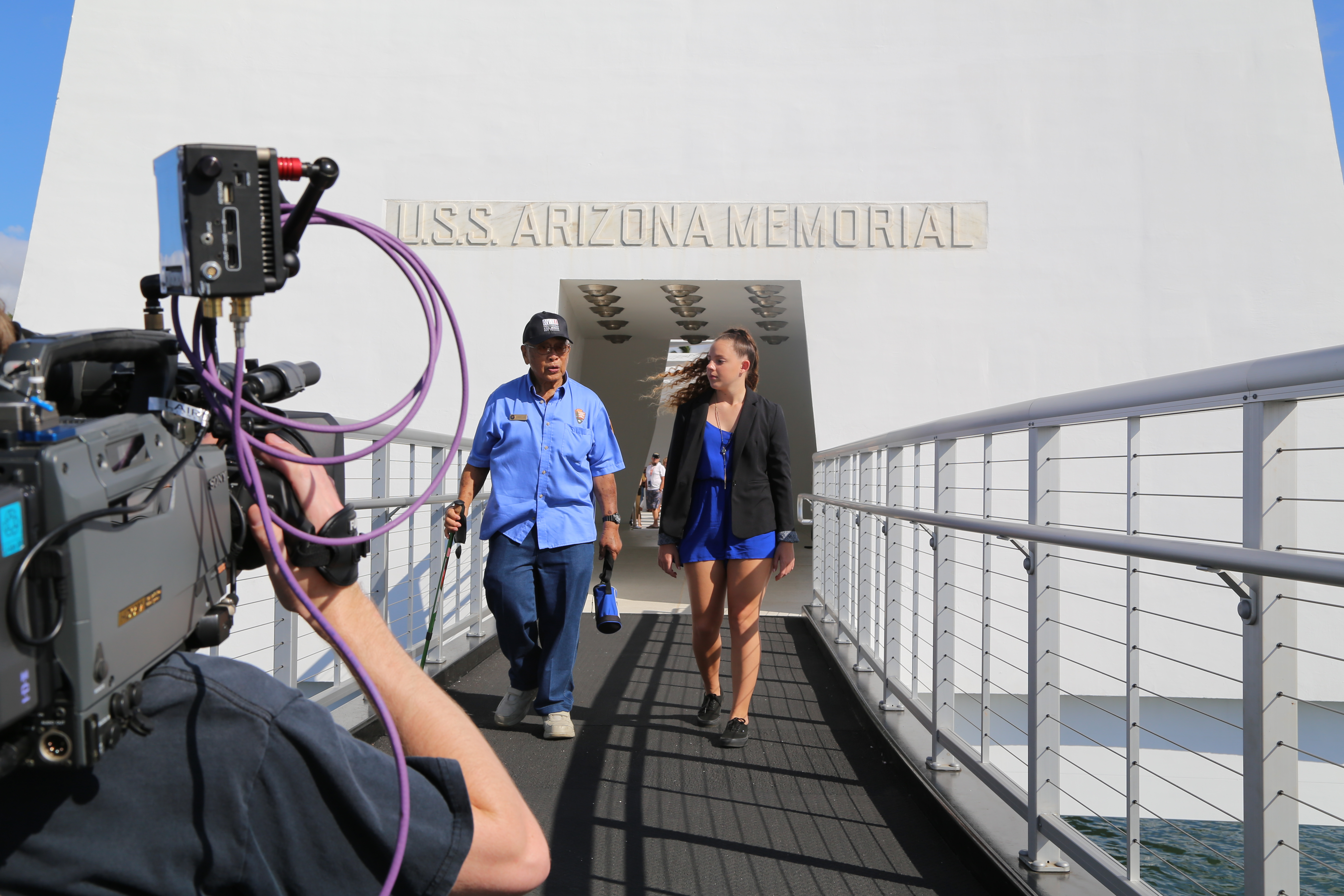 Touring the USS Arizona Memorial