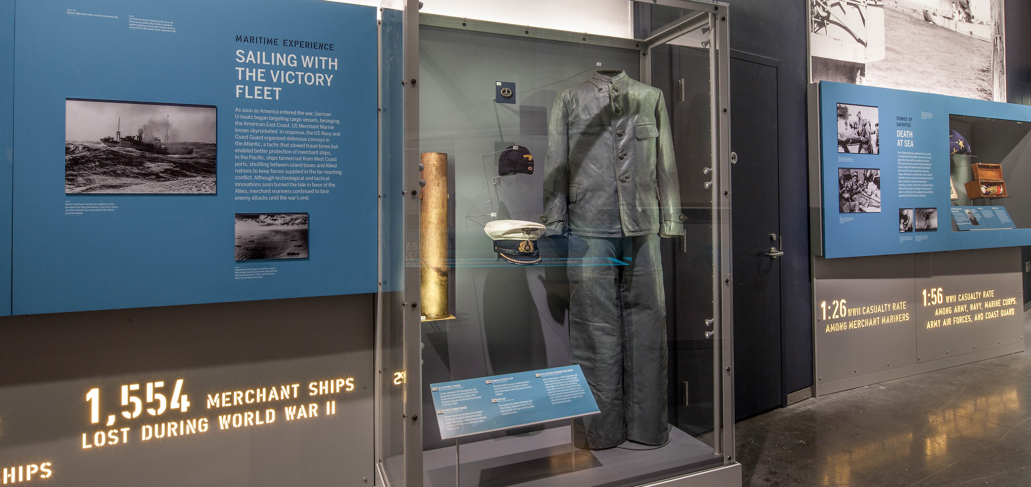 US Merchant Marine gallery uniform