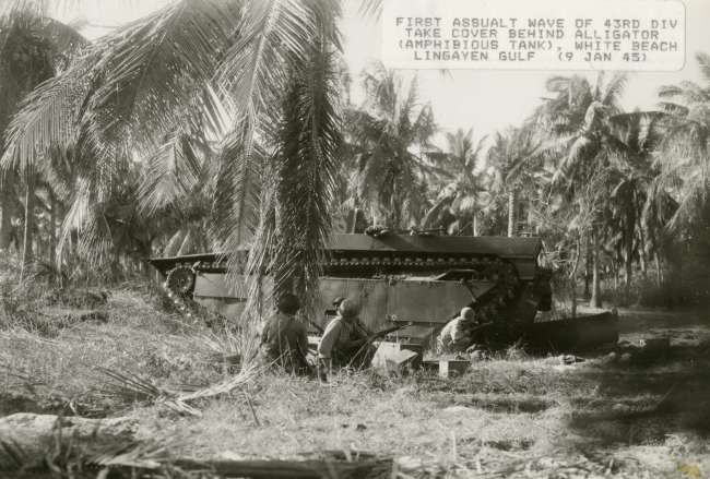 LTV4 Landing Vehicle in the jungle