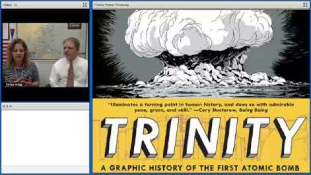 Trinity: A Graphic History of the First Atomic Bomb Webinar