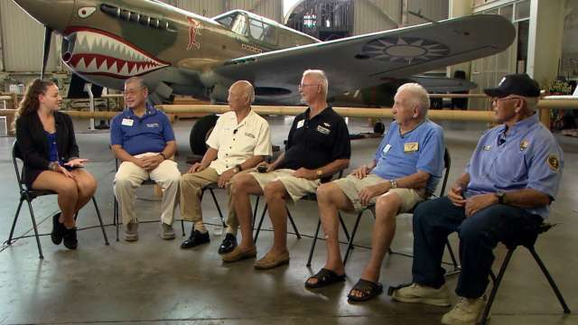 Pearl Harbor attack survivors virtual field trip