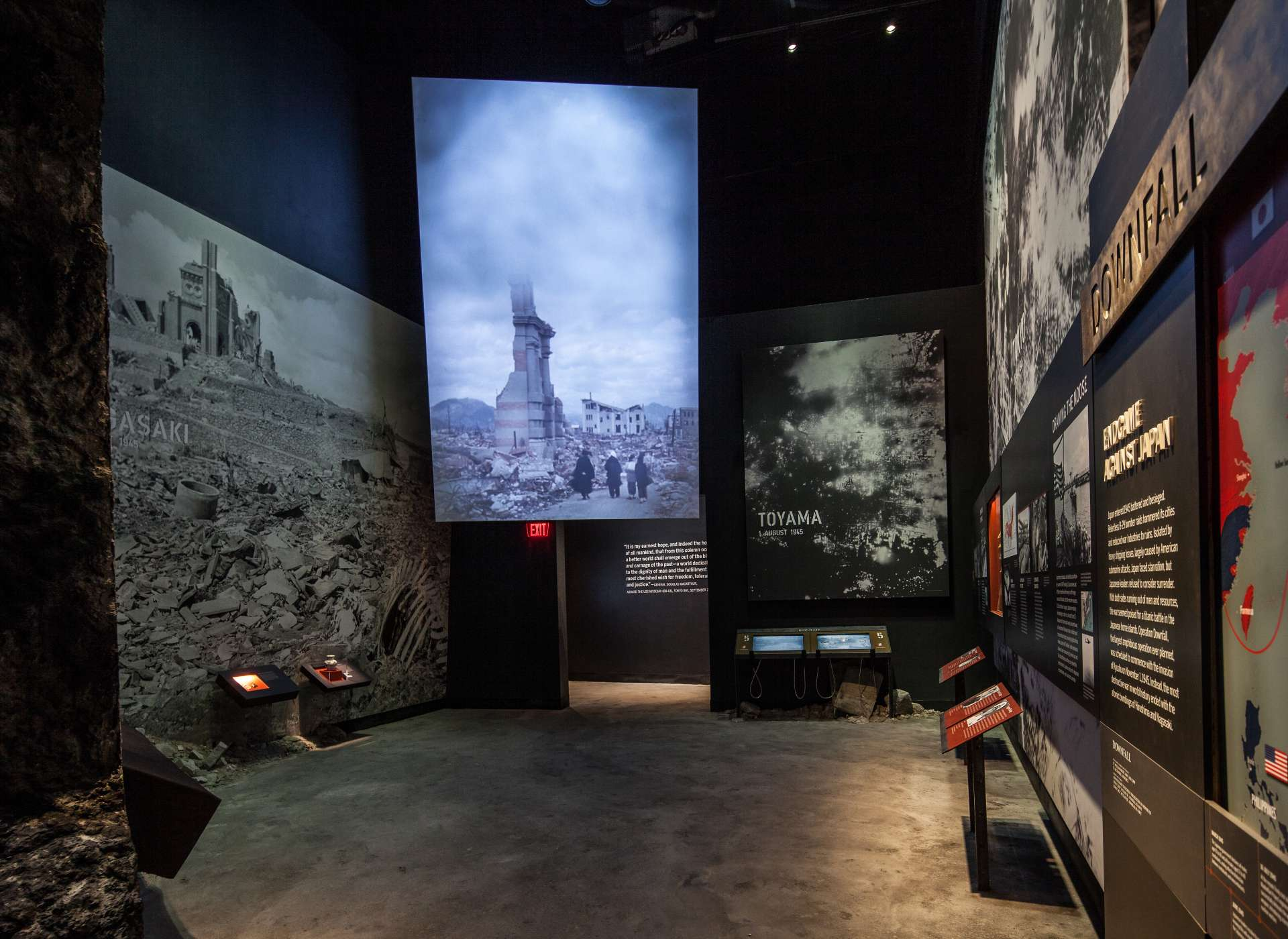 Downfall gallery, the aftermath of Nagasaki, Road to Tokyo