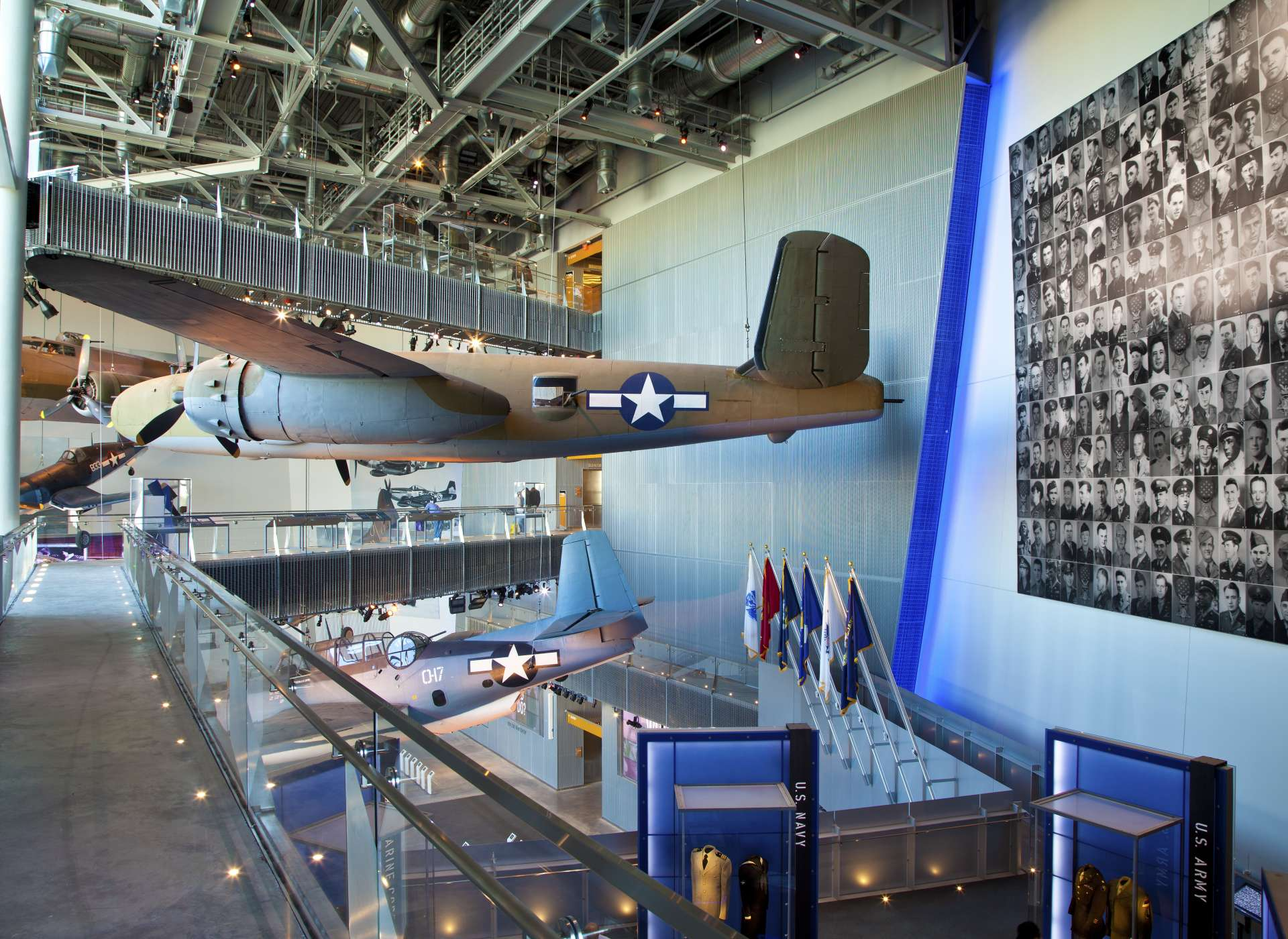 Aircraft in US Freedom Pavilion: The Boeing Center
