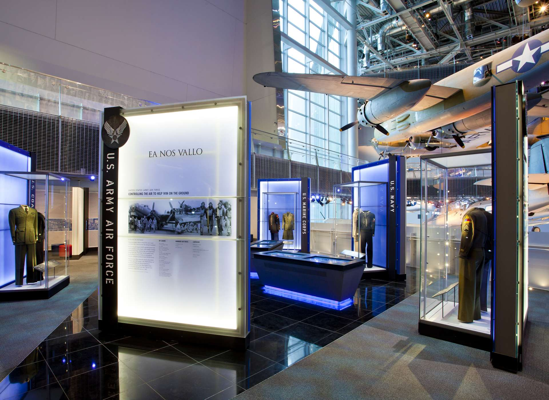 US Freedom Pavilion: the Boeing Center, Laborde Services Gallery