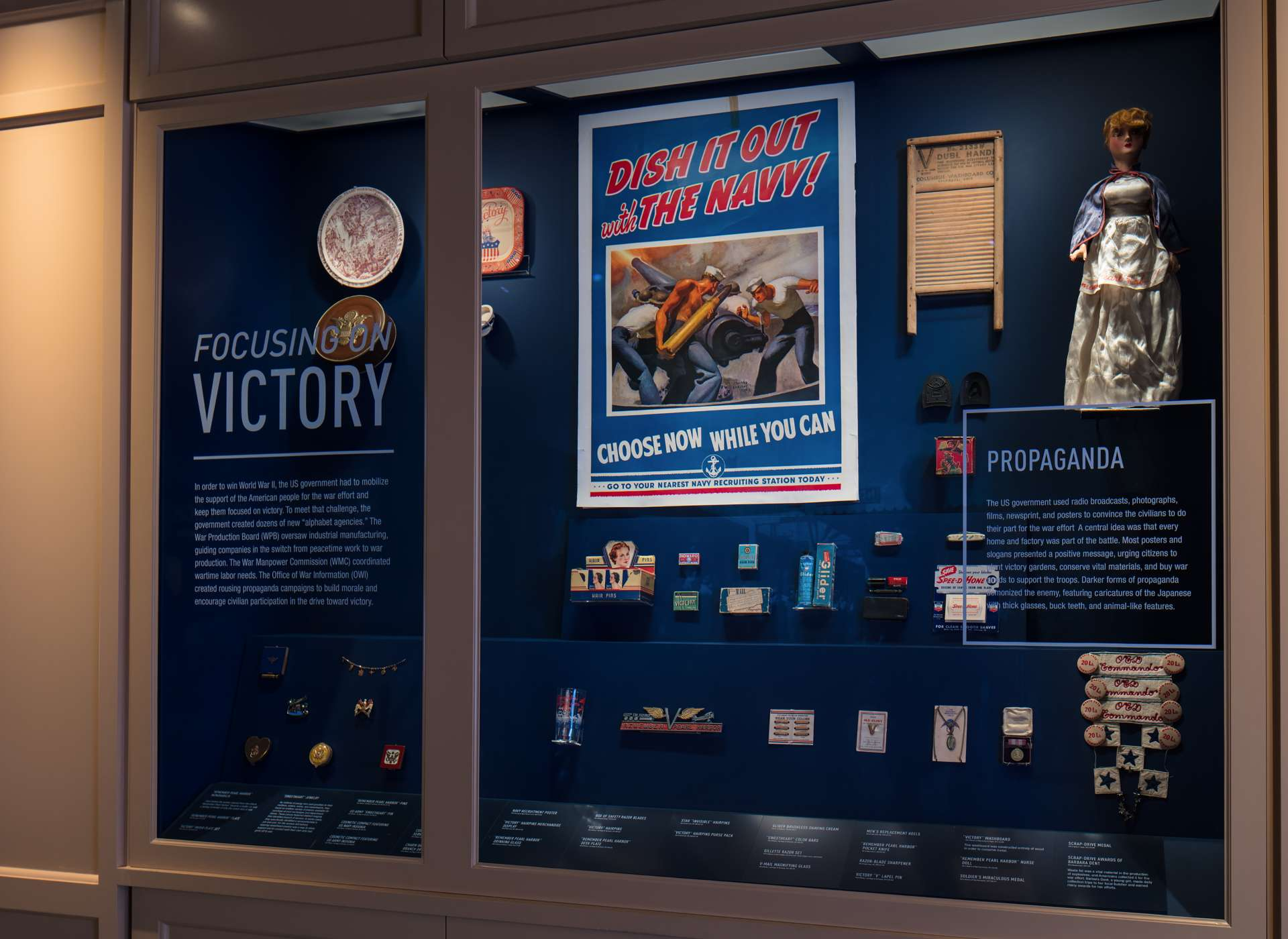 America Responds gallery artifacts, Arsenal of Democracy