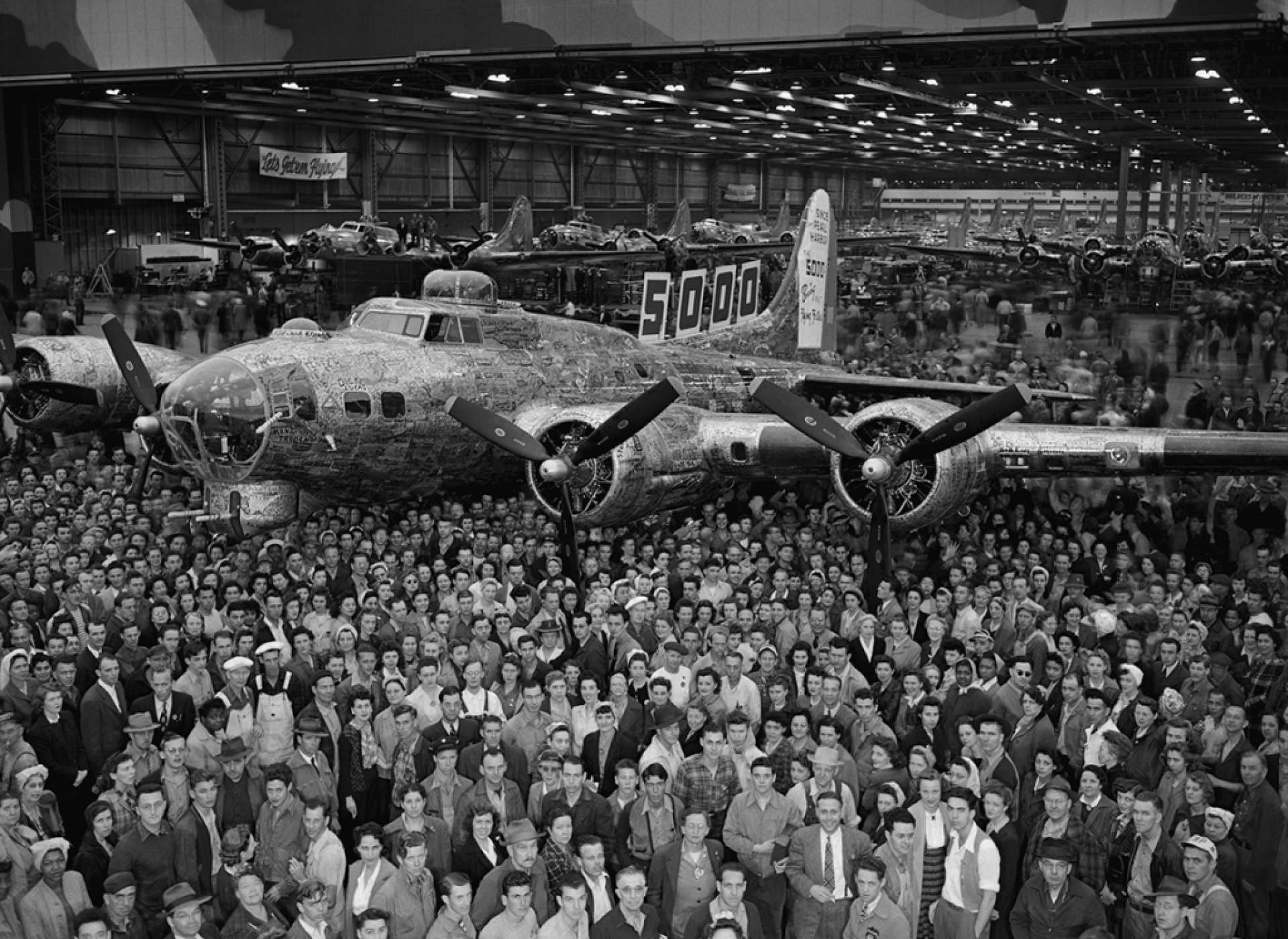 Boeing Belle, Boeing Company, WWII