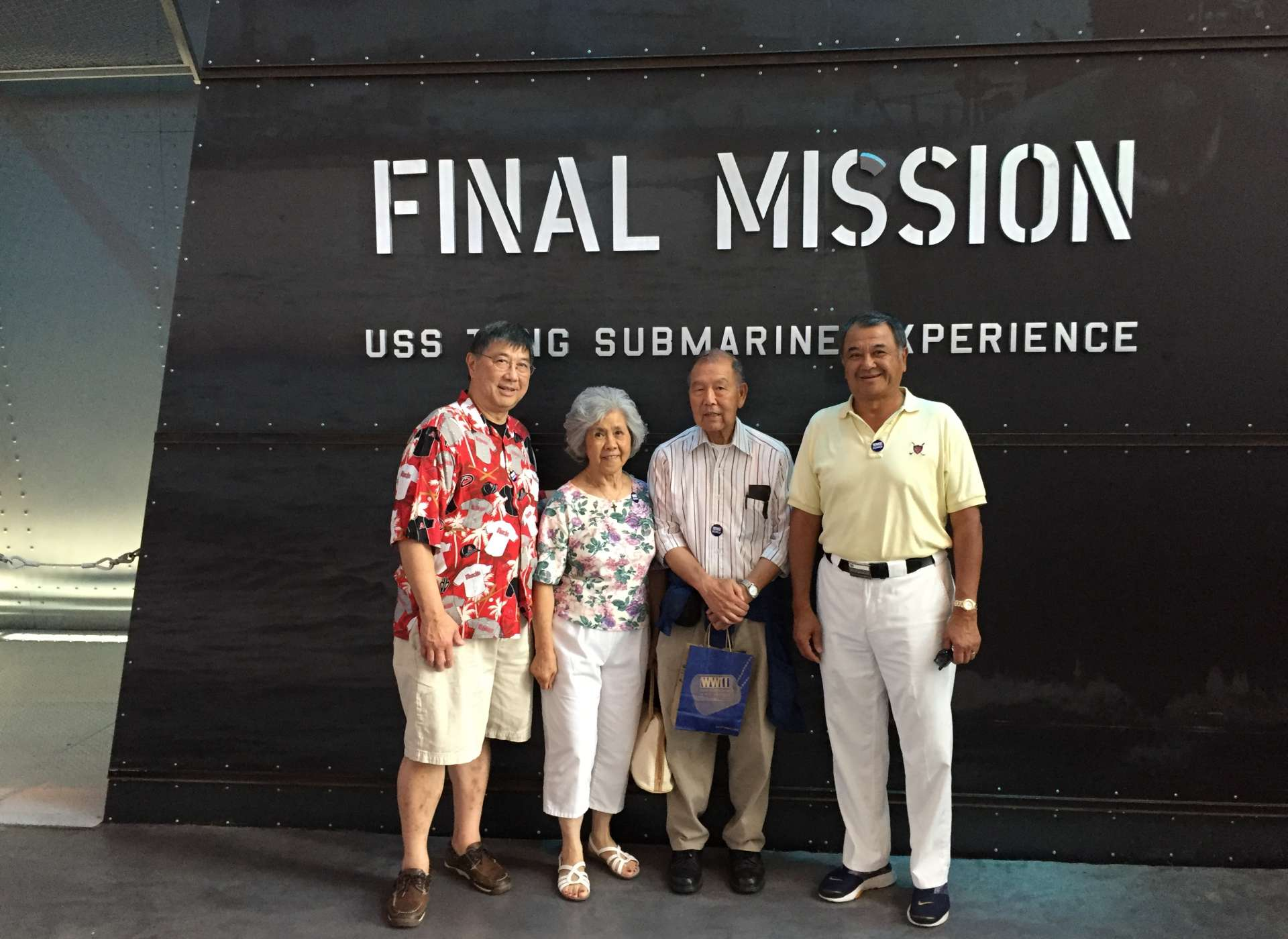 Patriots Circle member family at Final Mission