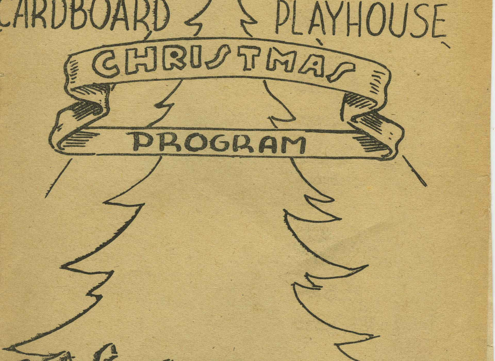 Christmas Program from Stalag XVIIB