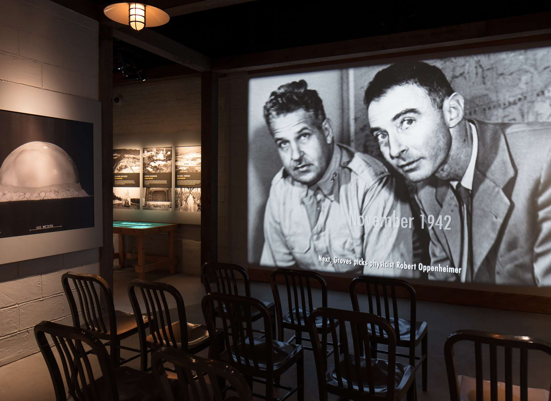 Manhattan Project gallery video, featuring physicist Robert Oppenheimer, Arsenal of Democracy