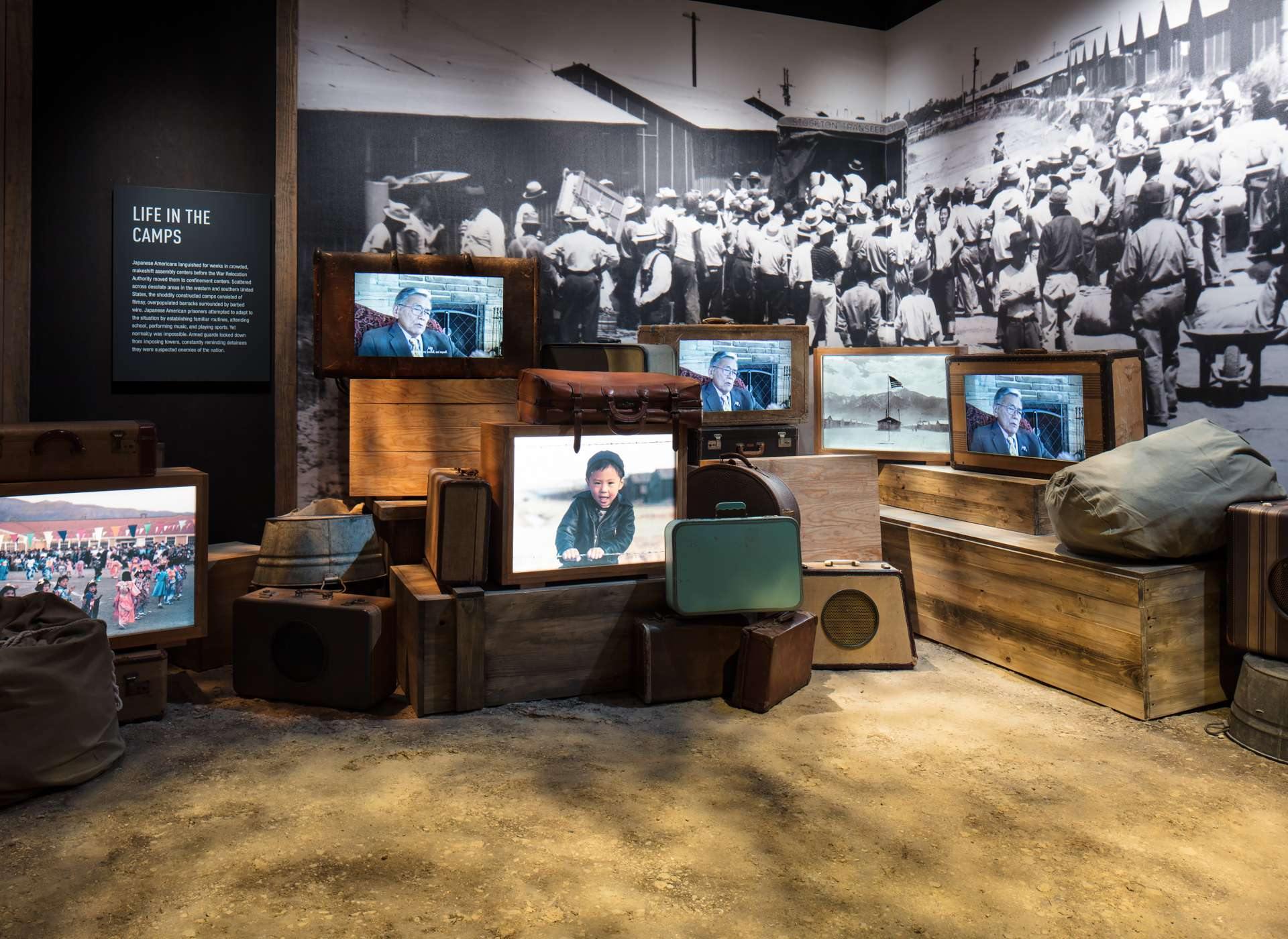 United but Unequal gallery, Japanese American stories of Life in the Camps, Arsenal of Democracy
