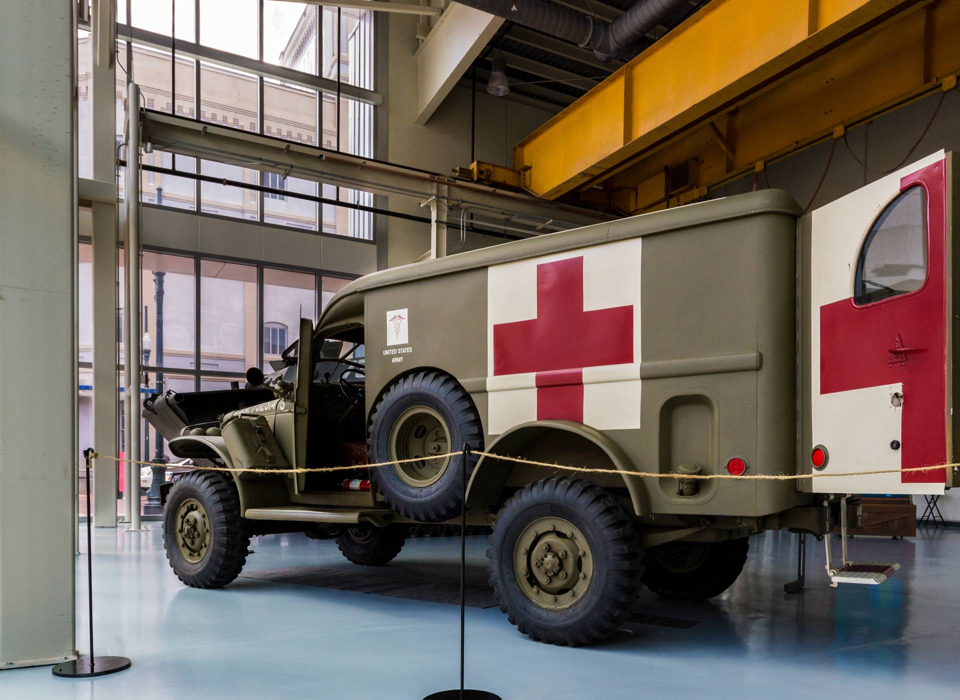 Dodge WC 54 Ambulance The National WWII Museum