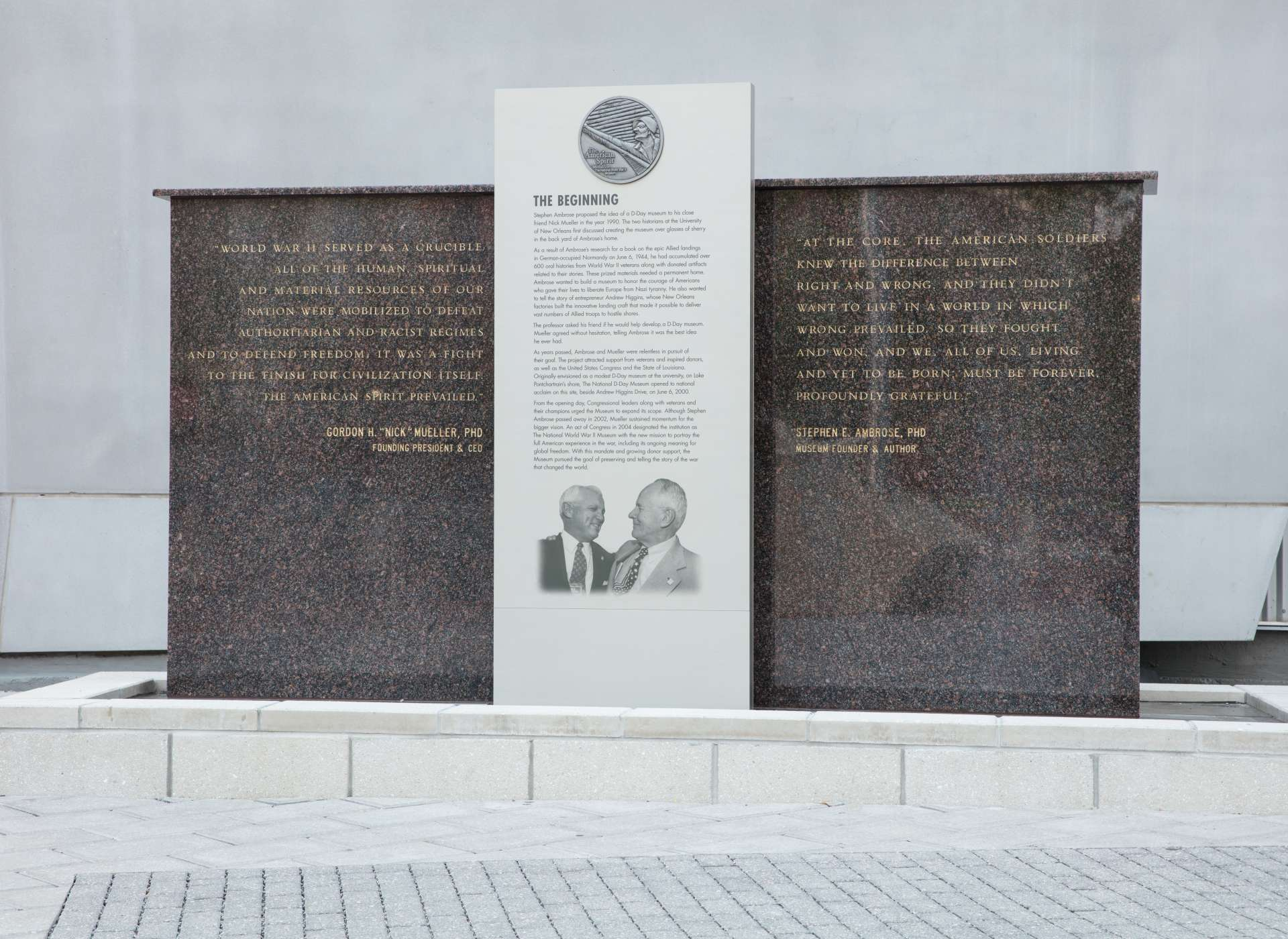 Museum Founders Monument