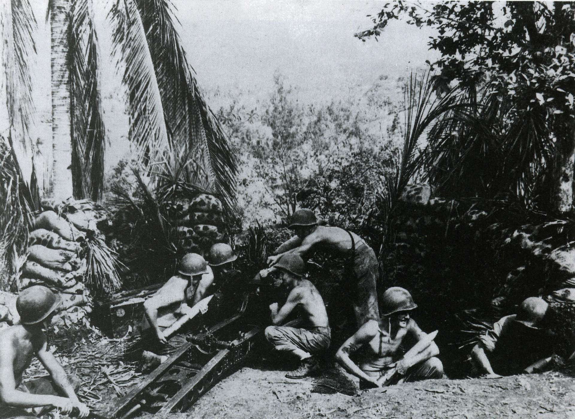 Marines on Guadalcanal
