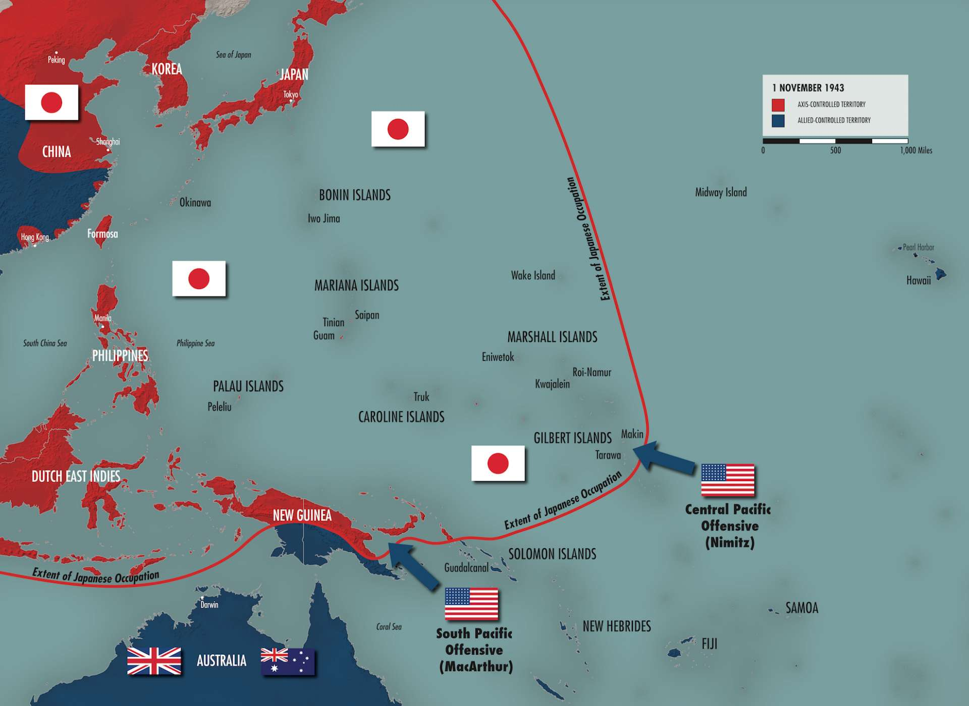 Pacific Strategy Map