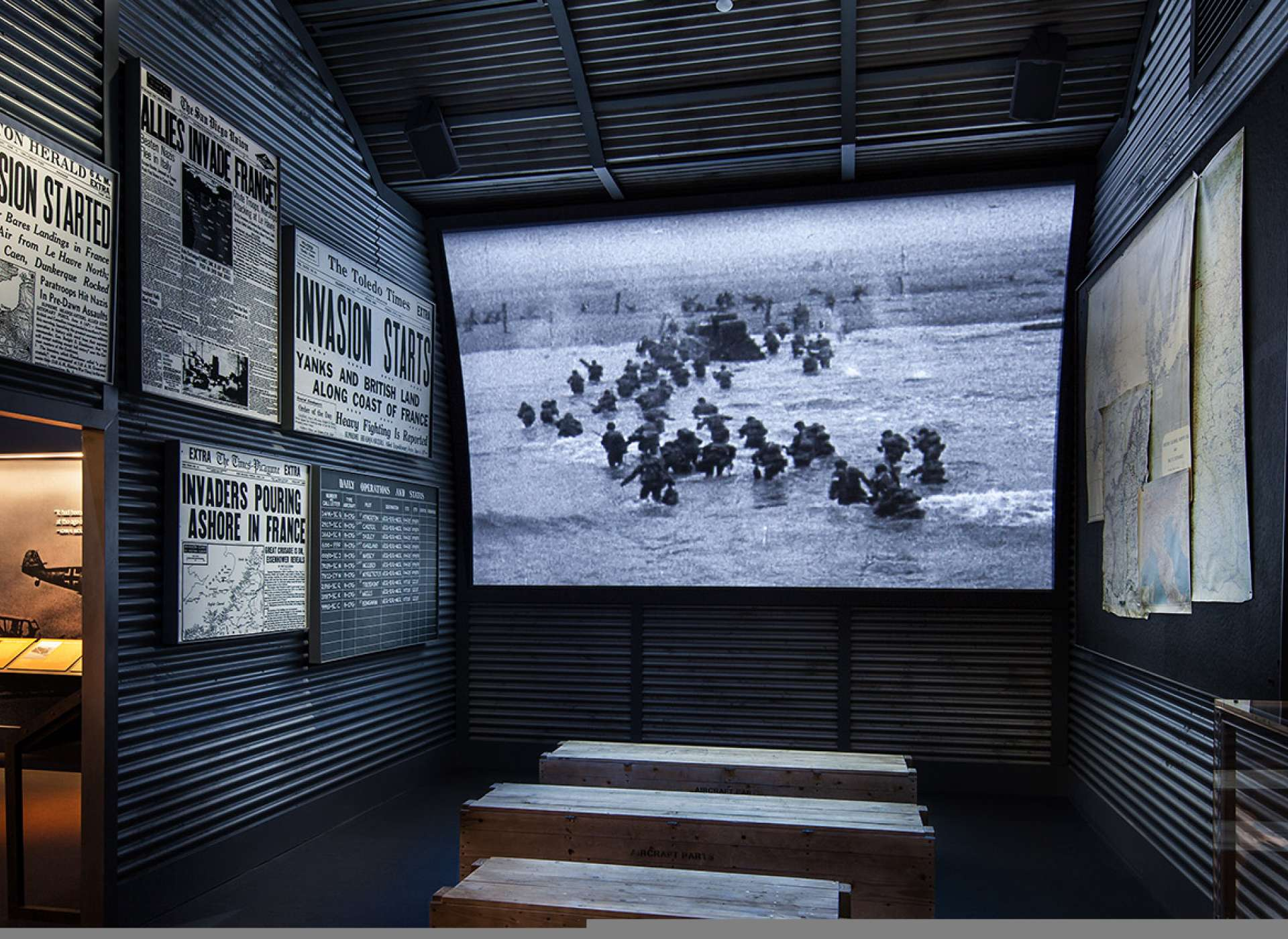 D-Day Theater in Road to Berlin