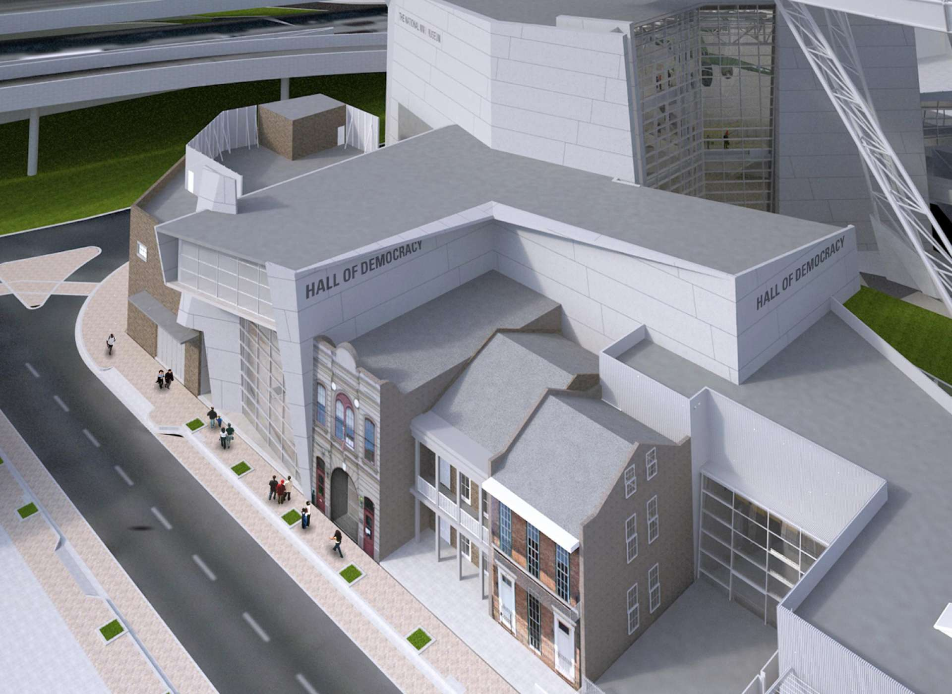 hall of democracy rendering