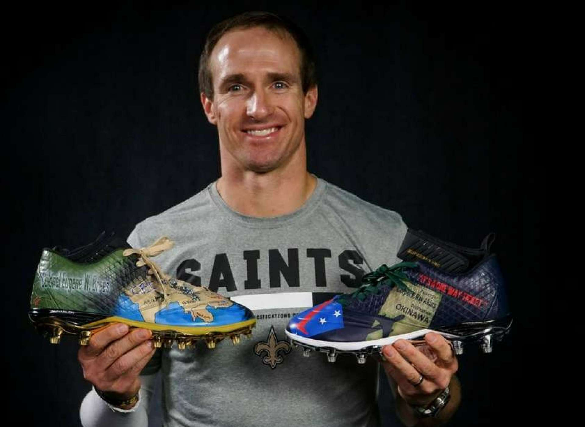 Brees cleats