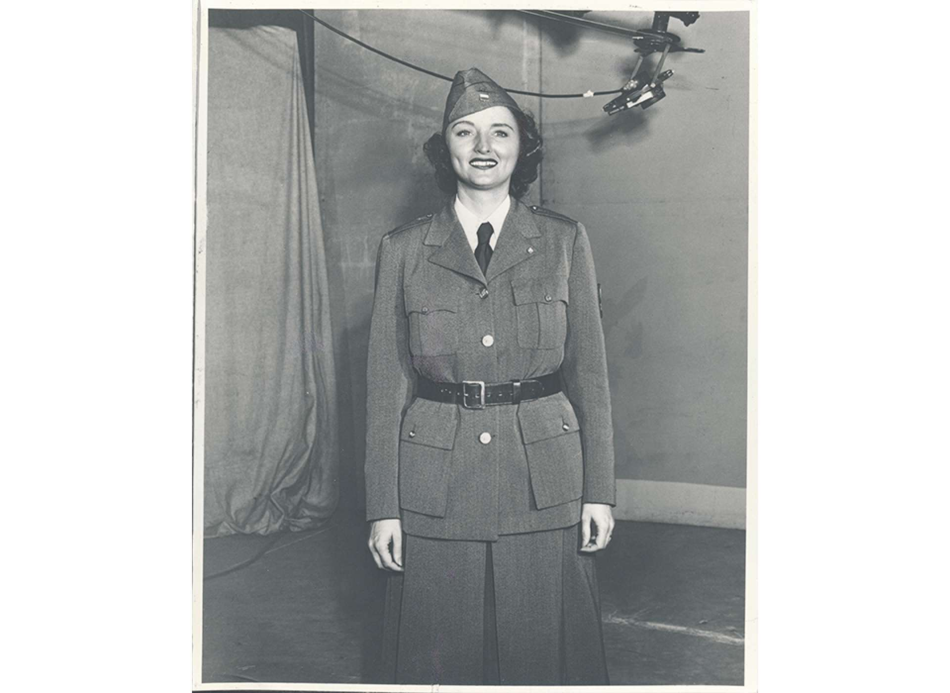 American Women's Voluntary Services Uniform of Dolores Hope