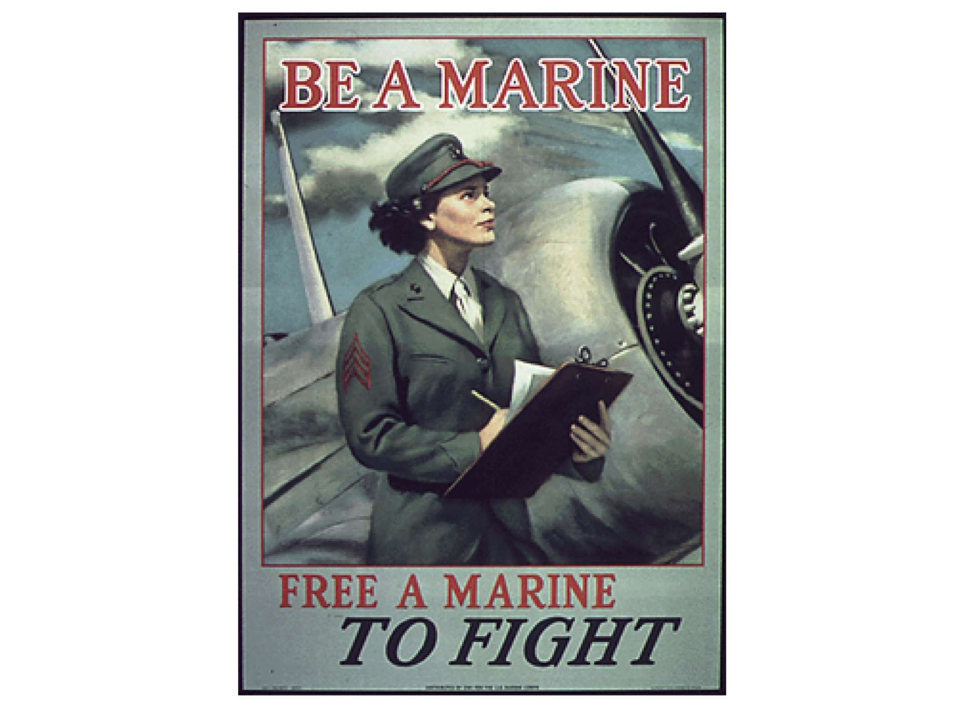 Marines poster