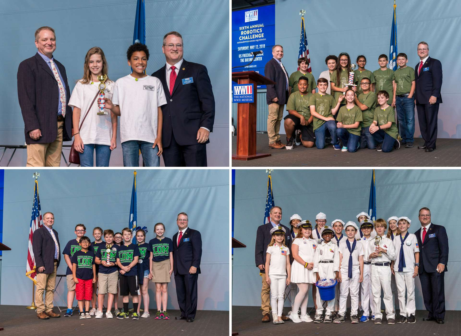 Robotics Challenge 2018 The National Wwii Museum New Orleans