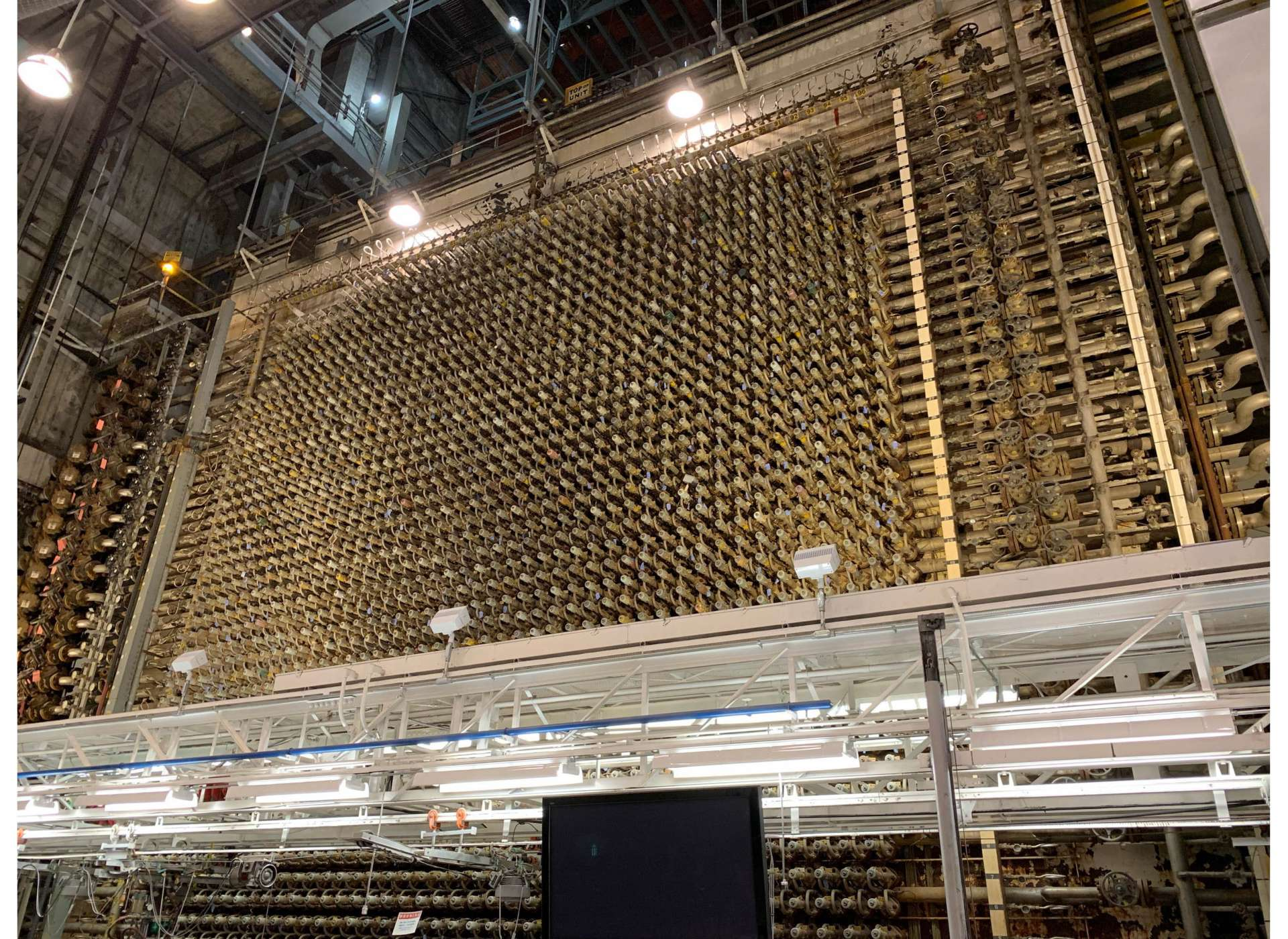 Figure 2: Front face of B Reactor