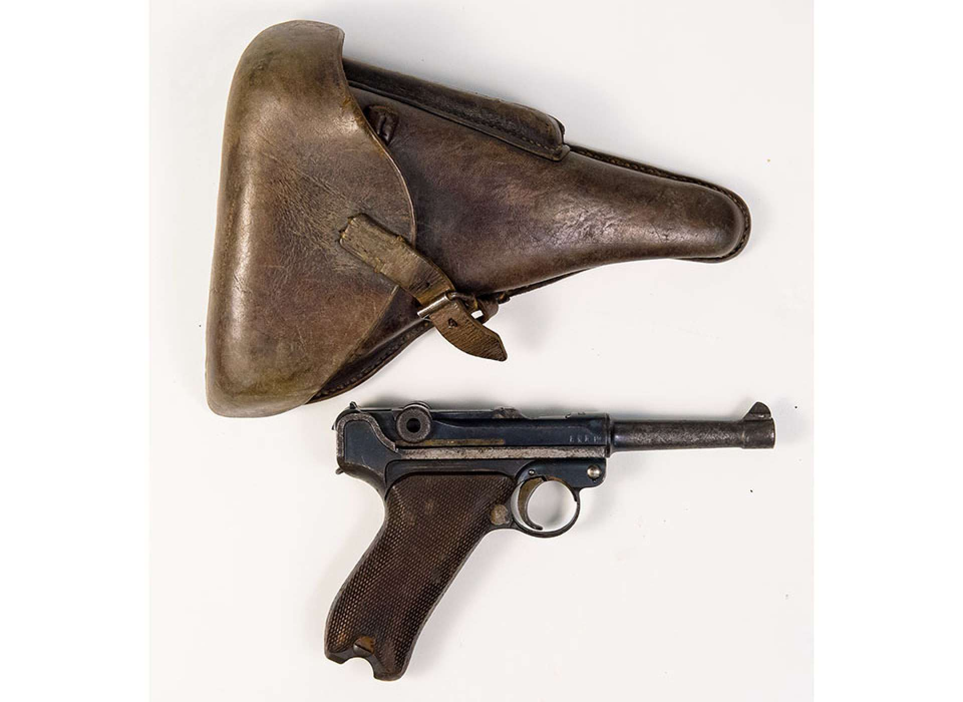 P08 Luger captured by Wallace Strobel.,Gift in Memory of Wallace C. Strobel, 2016.189.003