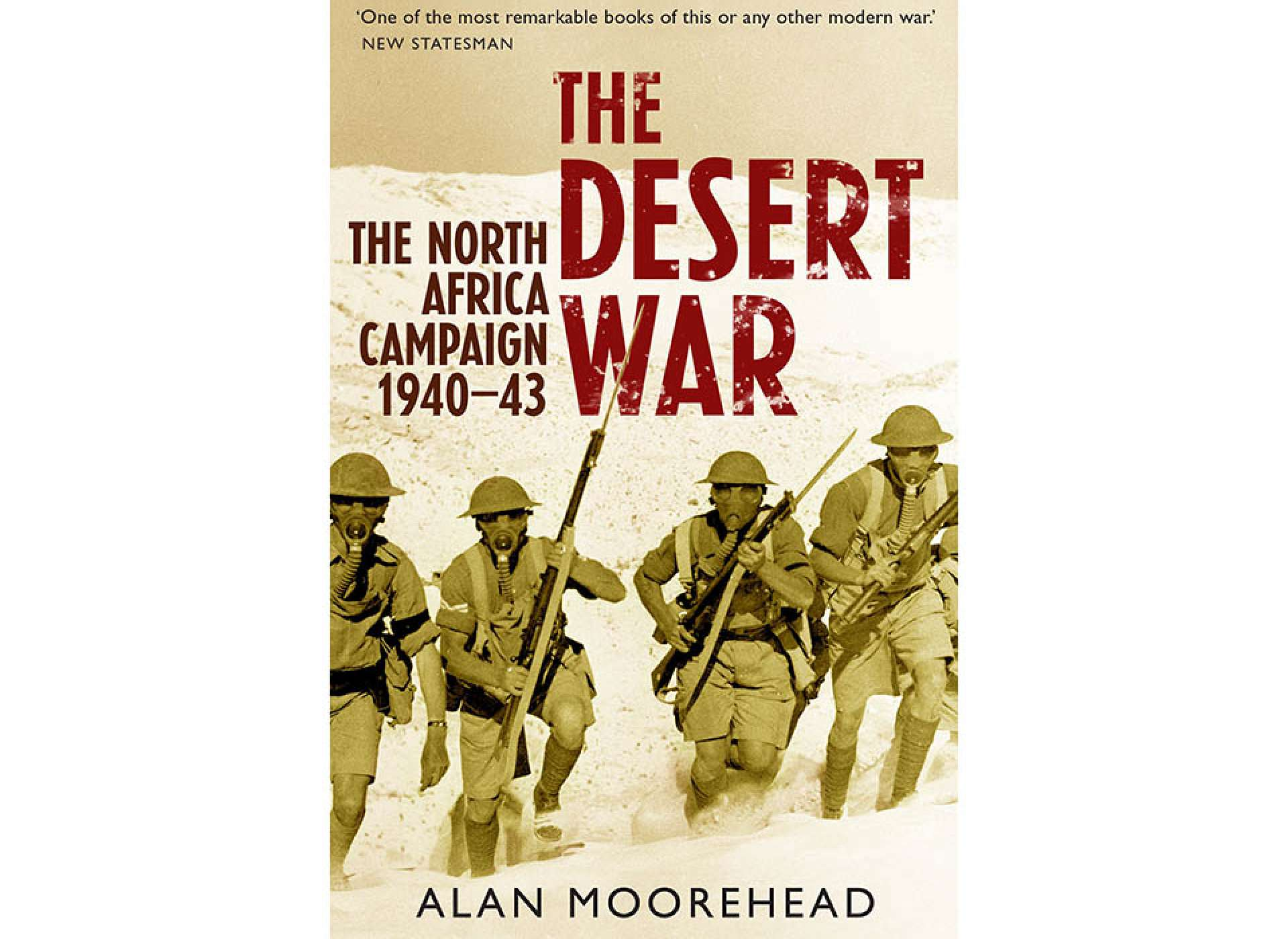 Moorehead The Desert War. Courtesy of Amazon.com