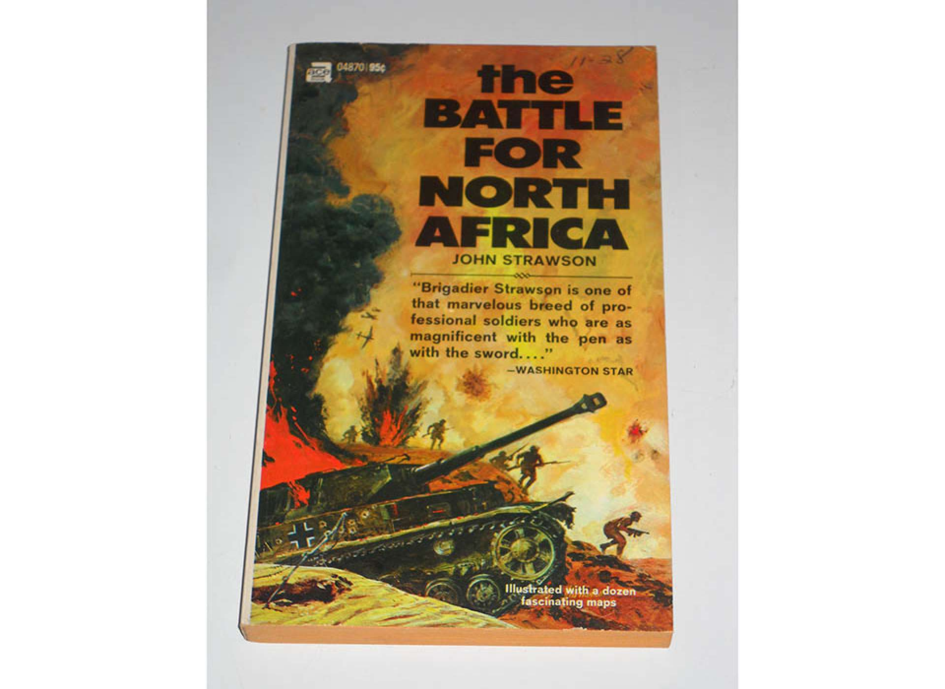 The Battle for North Africa. Courtesy of Amazon.com