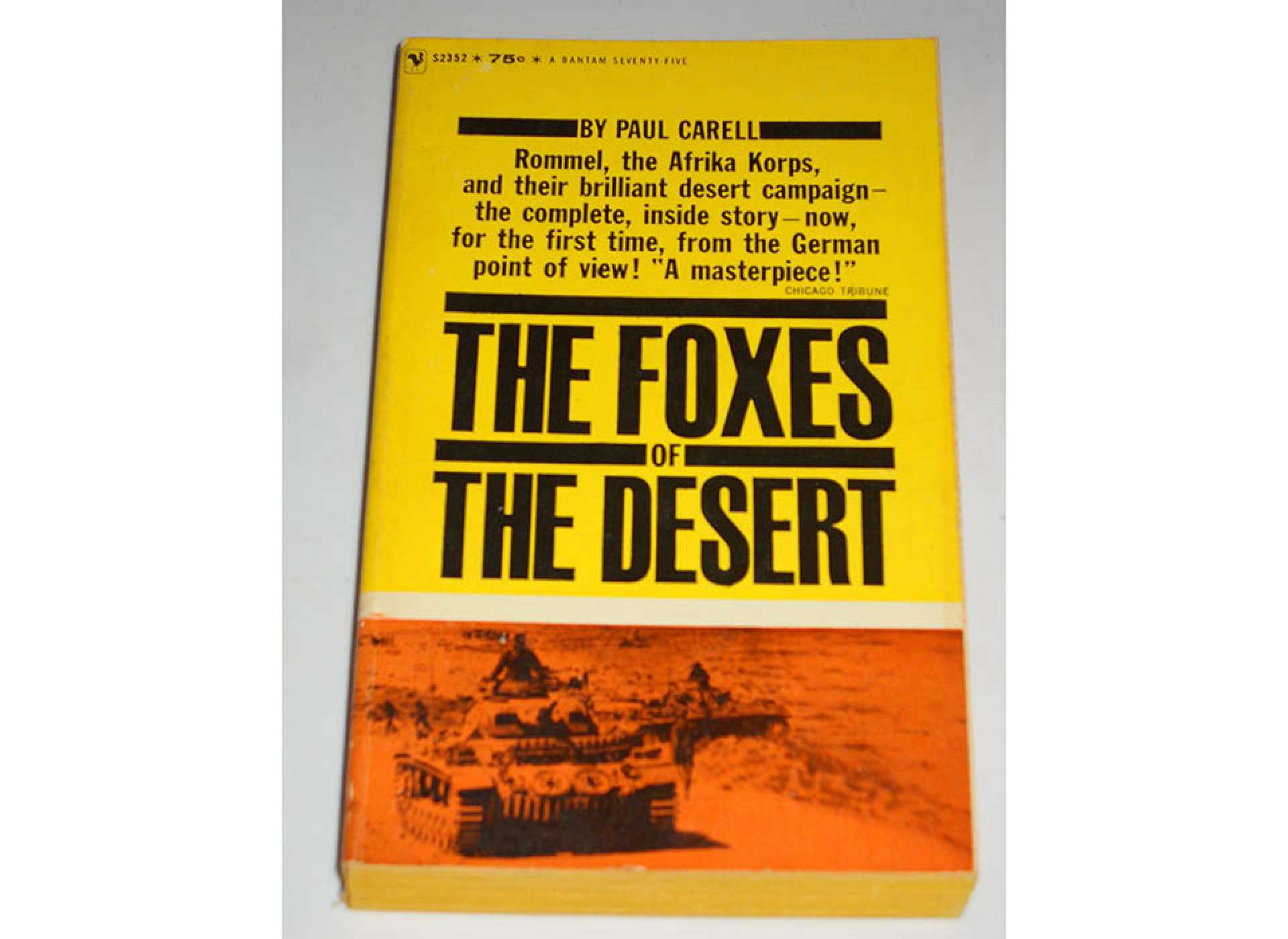 The Foxes of the Desert. Courtesy of Amazon.com