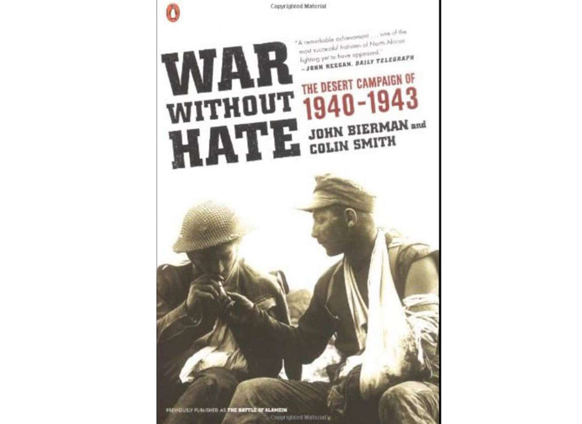 War without Hate. Courtesy of Amazon.com