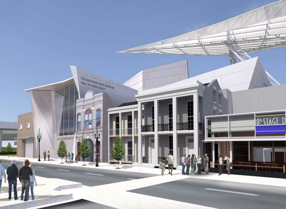 National WWII Museum expansion rendering
