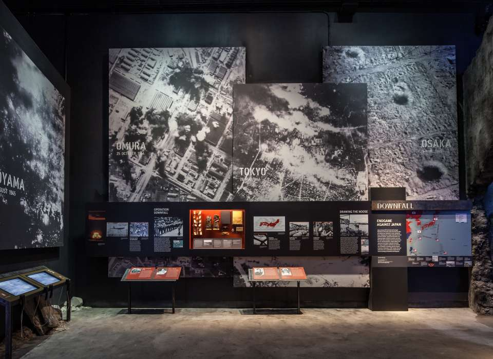 Downfall gallery, images of bomb sites, Road to Tokyo