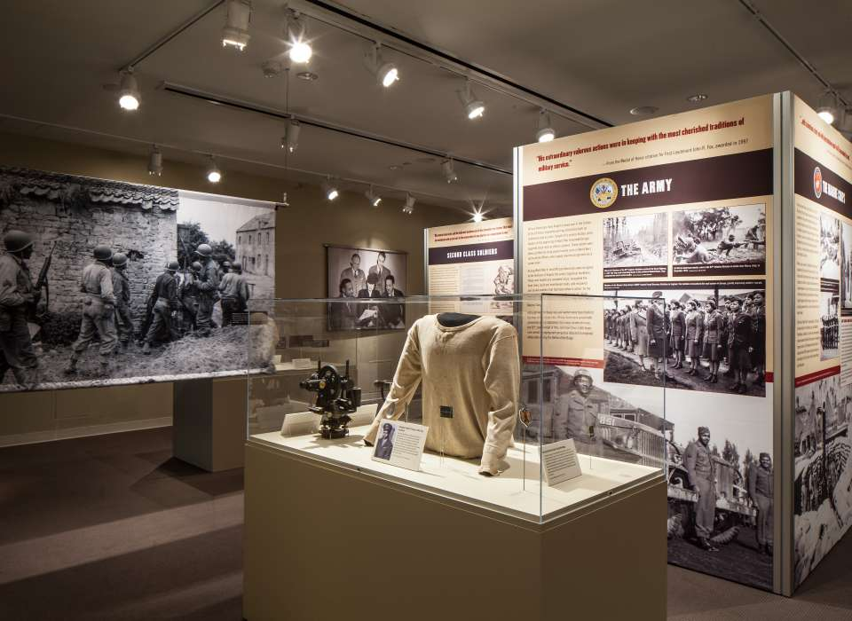 Fighting for the Right to Fight exhibit artifacts