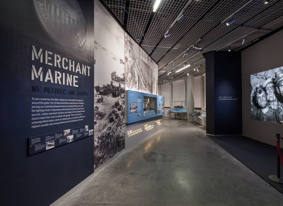 Merchant Marine gallery entrance