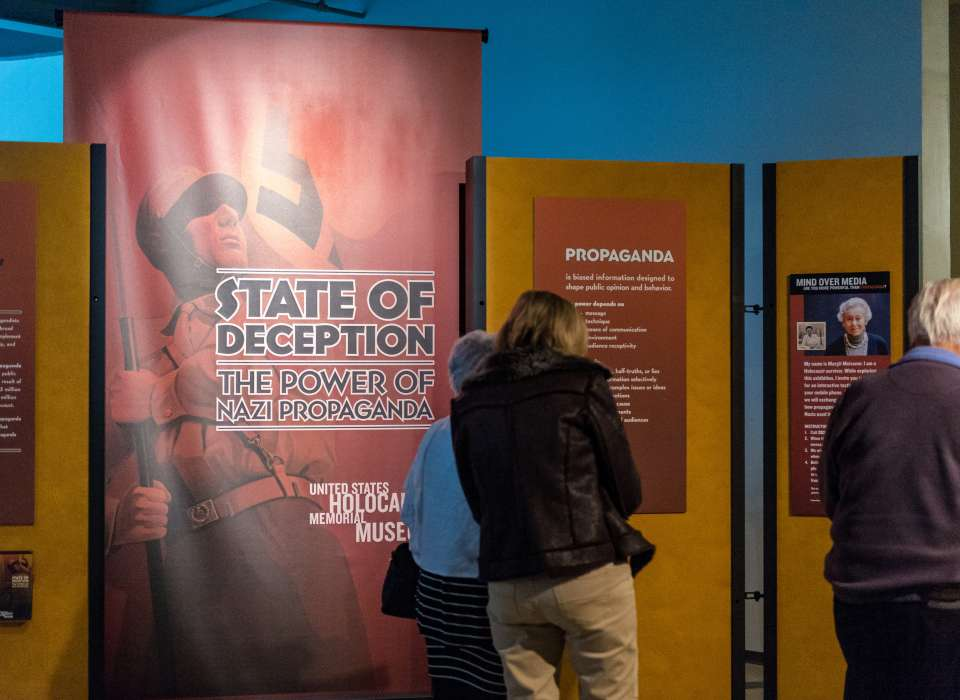 State of Deception exhibit about Nazi propaganda