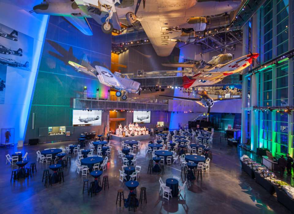 US Freedom Pavilion: the Boeing Center event
