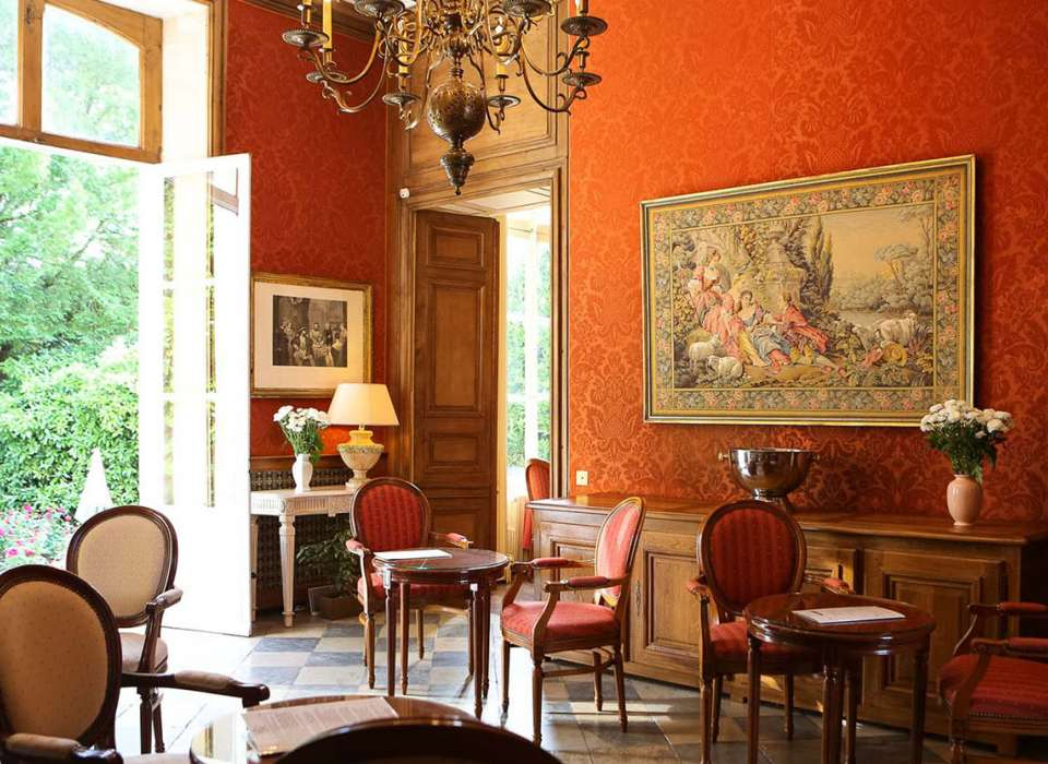 Hotel D'Argouges drawing room