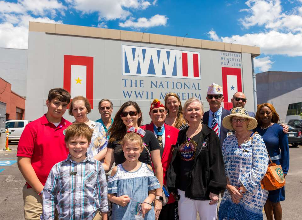 Military reunions at The National WWII Museum