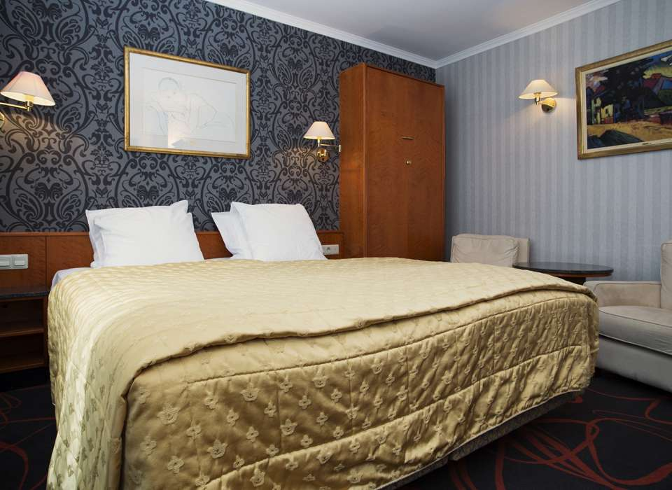 Hotel International, Clervaux, Luxembourg, room
