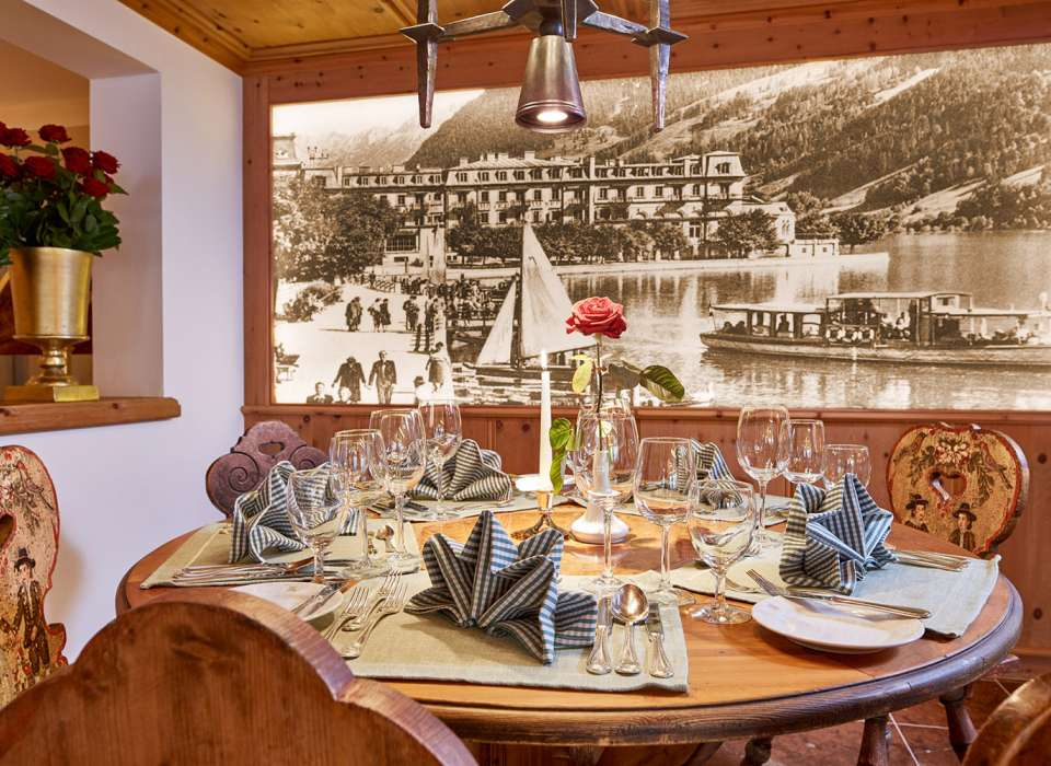 Grand Hotel Zell-Am-See, Austria, dining room