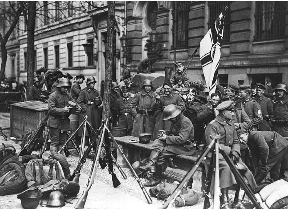 Image result for freikorps weimar communists