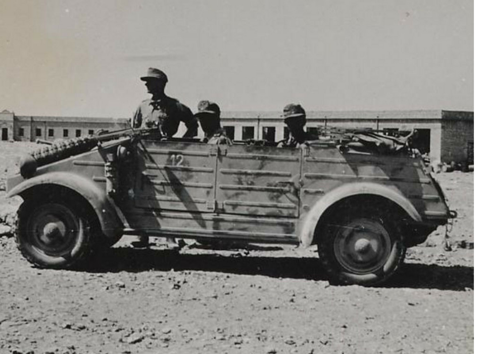 Drive to Nowhere: The Myth of the Afrika Korps, 1941-43