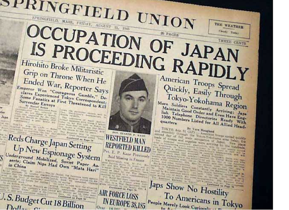 Did the US Army Occupy Japan After World War II? | The