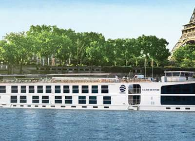 SS Joie de Vivre on the River Seine