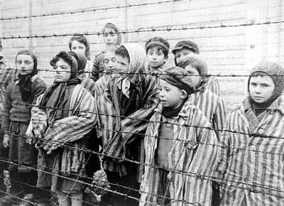 Children in concentration camps, World War II