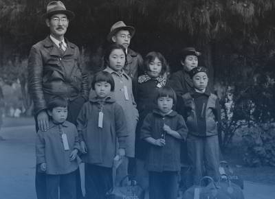 Family during Japanese Internment in World War II