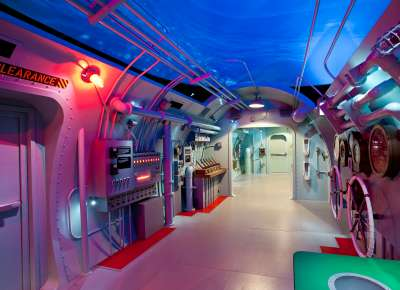 Final Mission: USS Tang Submarine Experience interior