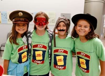 Spy camp at The National WWII Museum
